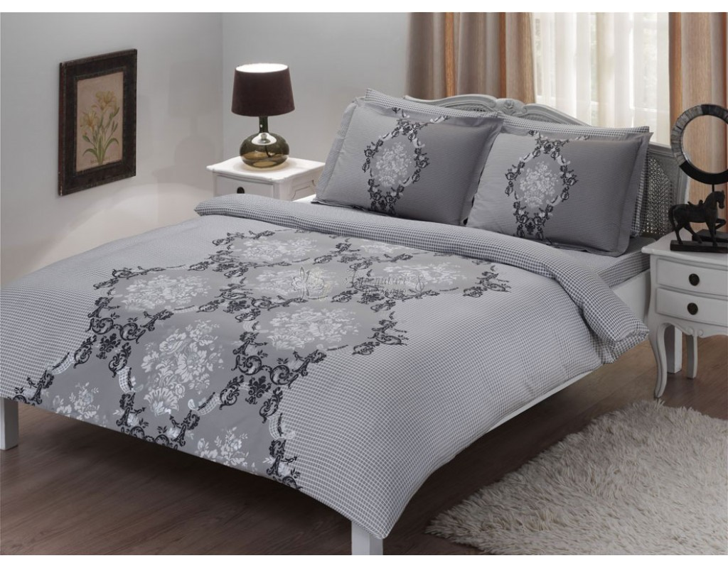 20513 Double quilt cover set satin cotton delux